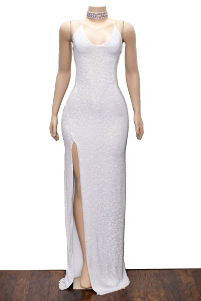 The OLIVIA Glitz Gown- Available in 6 colors
