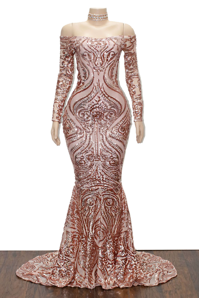 The MALINA Sequins Gown- Available in 6 colors – Lynira Label
