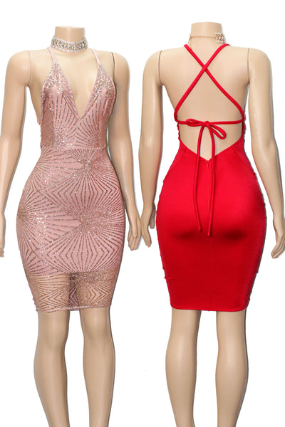 The GEN Glitz Dress- Available in 8 colors