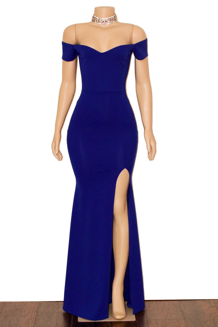 The LEE Mermaid Gown- Available in 3 colors (2398099505236)
