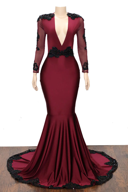 The KELLY Gown- Available in 4 colors