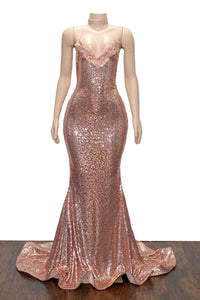 The MILLY Sequins Gown- Available in 4 colors
