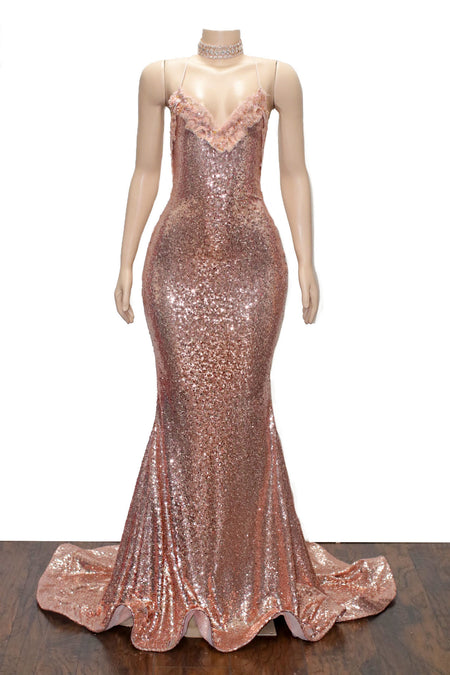 The PENELOPE Sequins Gown- Available in 6 colors