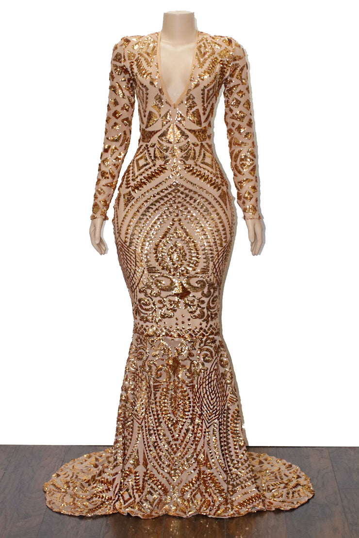 The TALISHA Sequins Gown
