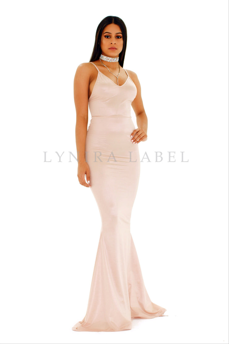 The CHANTEL Satin Gown (9336169670)