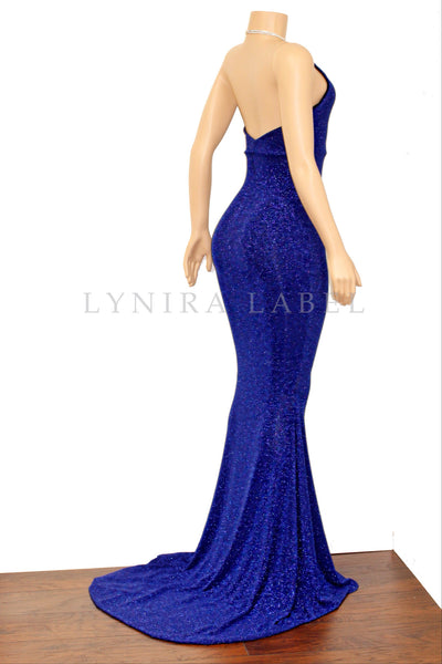 The 'HAILEY' GLITZ GOWN- Available in 5 colors