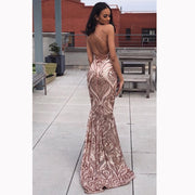 The AALIYAH Sequins Gown