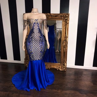 The ROYALTY Gown- Available in 6 colors