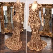 The TALISHA Sequins Gown (4291939401812)