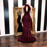 The ZAYDA Velvet Gown- available in 13 colors