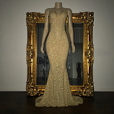 The HAILEY Glitz Gown (4478522720340)