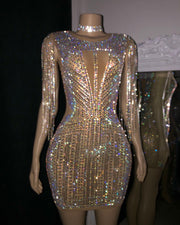The Marlin Rhinestone Dress