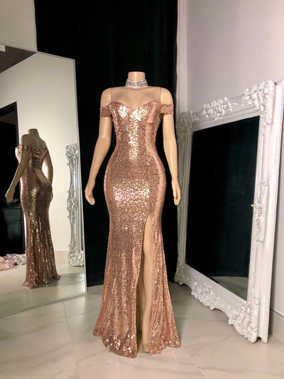 The Yanny Sequin Gown