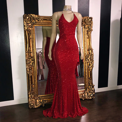 The HAILEY Glitz Gown (4478531141716)