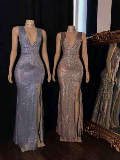 The CIERRA Glitter Gown (3703364354132)