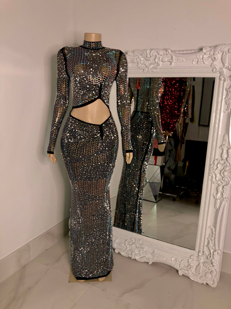 The CELINE Rhinestone Gown