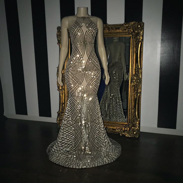 The LILYBETH Sequins Gown (200394539014)