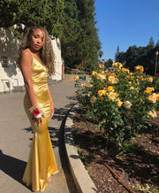 The CHANTEL Satin Gown