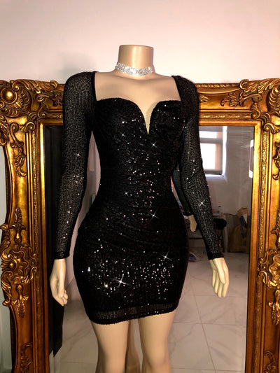 The DEYSI Sequin Dress