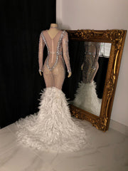 The LISSA Rhinestone Gown