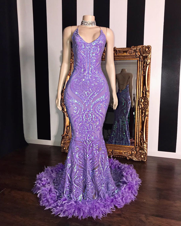 The AALIYAH Sequins Gown (213863170054)