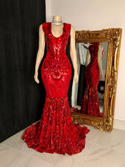 The JANAYA Red Gown