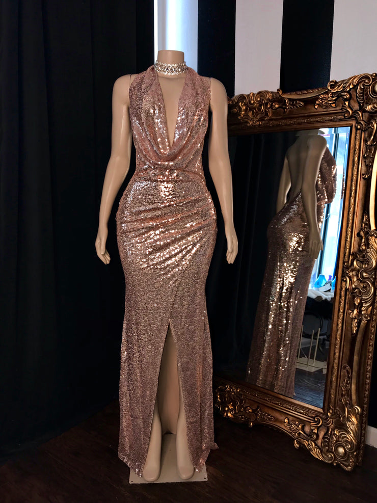 The YAHAIRA Sequin Gown (3703341318228)