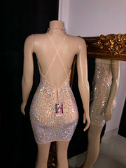 The STACY Rhinestone Dress