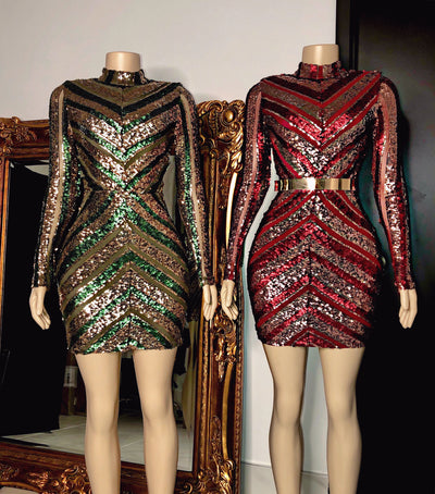 The JACKIE Sequin Dress