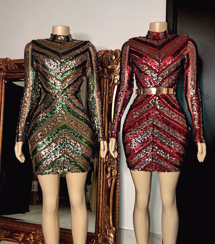The JACKIE Sequin Dress (4200570945620)