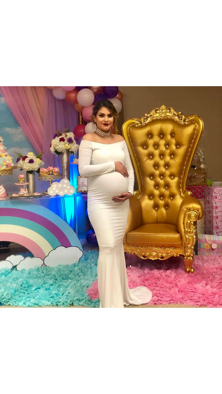 The ANGELA Maternity Gown (100338040838)