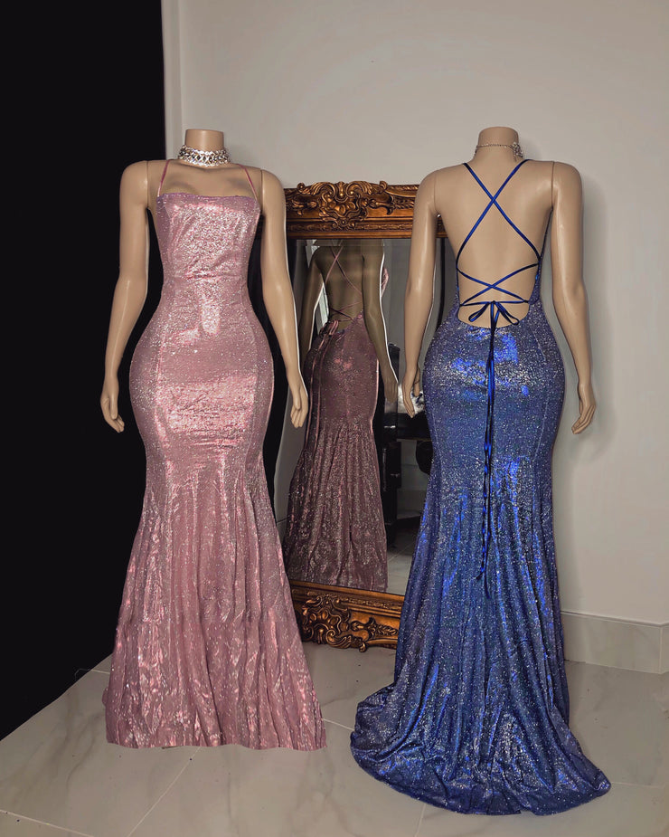 The TRACY Glitter Gown