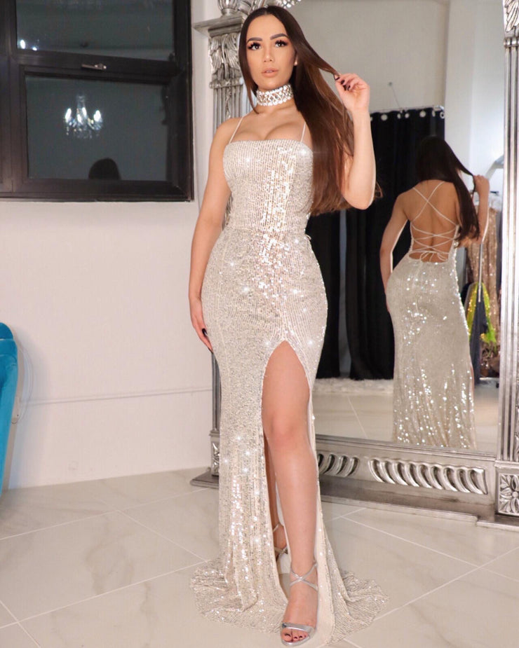 The MARISSA Sequin Gown