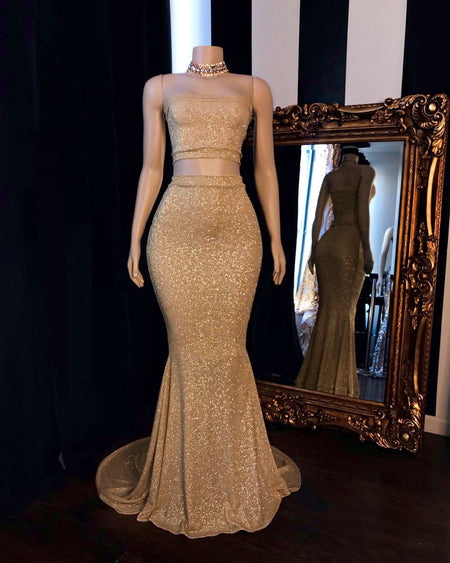The SYDNEY Sequins Gown- Available in 8 colors