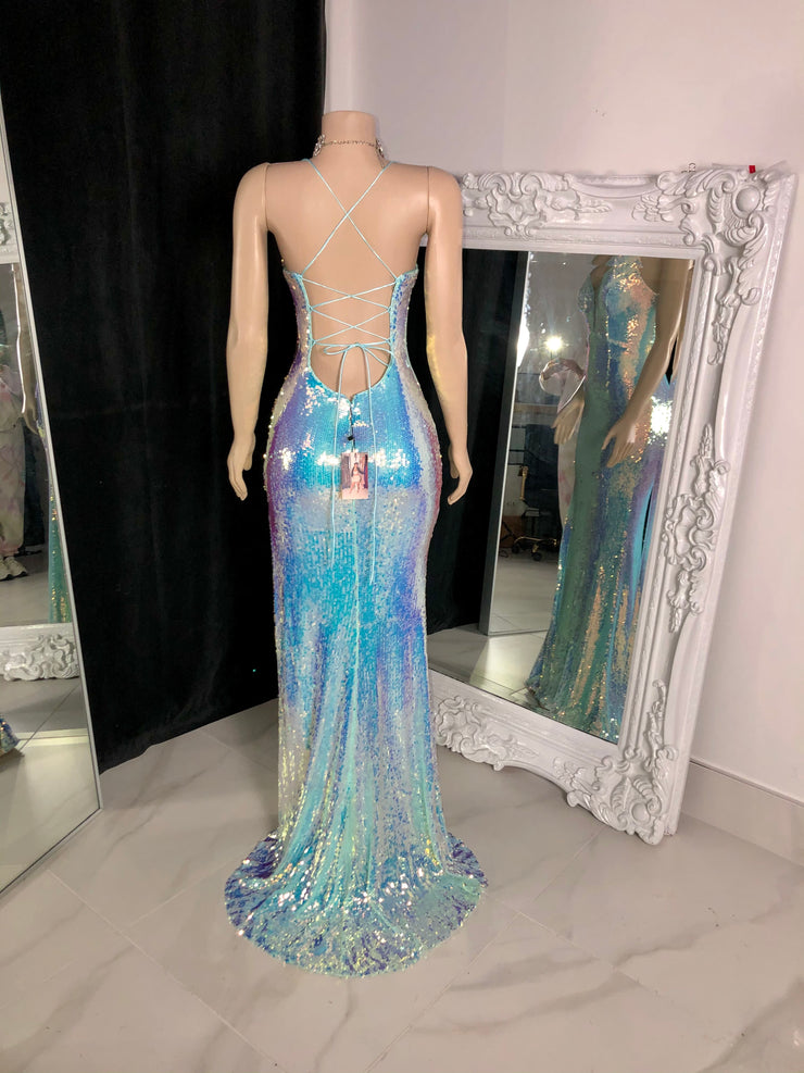The CAYNE Sequin Gown