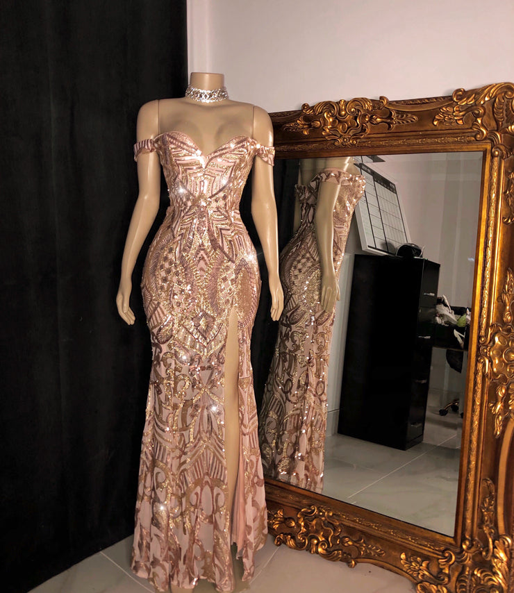 The CHARISMA Sequin Gown