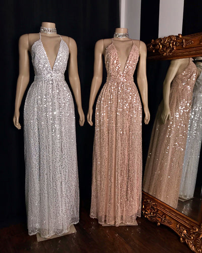 The IRENE Sequin Gown