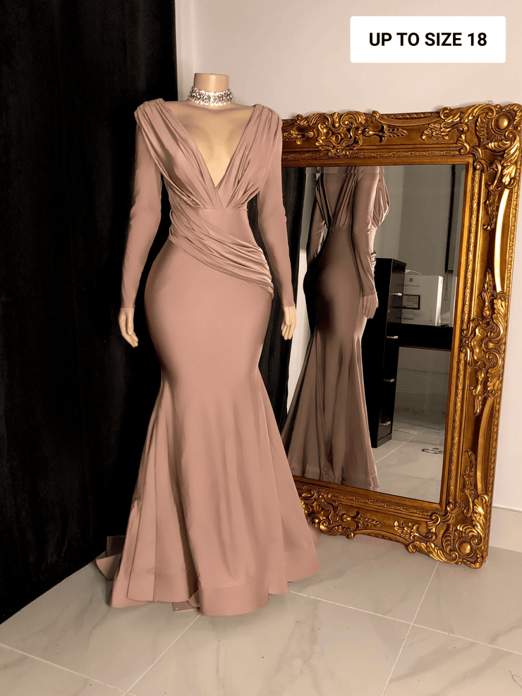 The CARLY Rose Gown