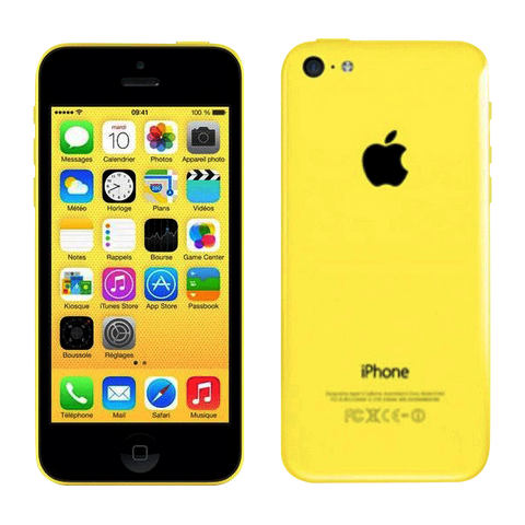 iPhone 5C 8 Go Jaune Reconditionné