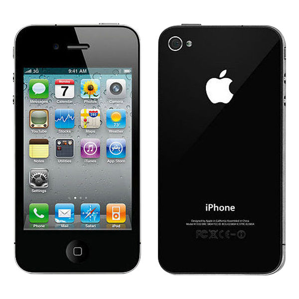 iphone 4s 16 go noir reconditionn phoneandphone. Black Bedroom Furniture Sets. Home Design Ideas