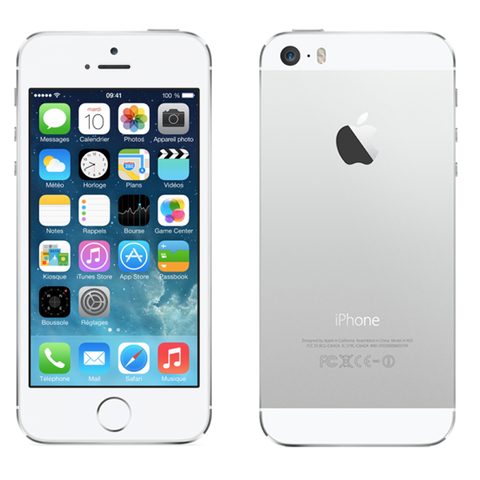 iPhone 5S Silver 64Go reconditionné