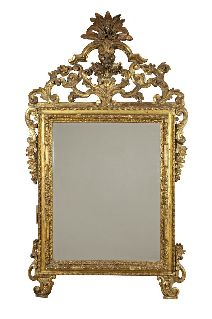 Late 18th Century Italian Giltwood Mirror