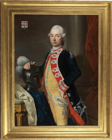 18th Century Portrait of the Chevalier Michel de Baudre