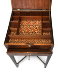 Sheraton Mahogany Jewellery Box on stand Circa 1780
