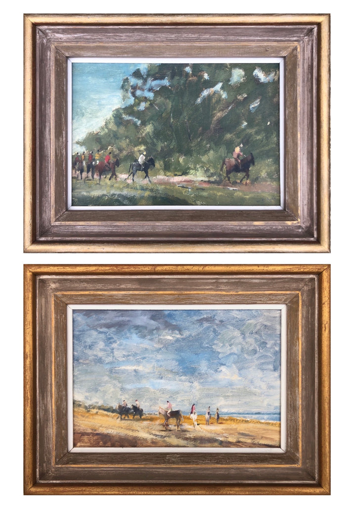 Oil paintings, Pair of Landscapes by WH Ford, British.