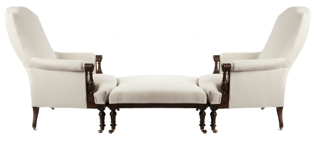 x SOLD : A Fine French Rosewood Duchess Suite