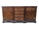 Dresser Base/Sideboard Oak George III Period Circa 1770.
