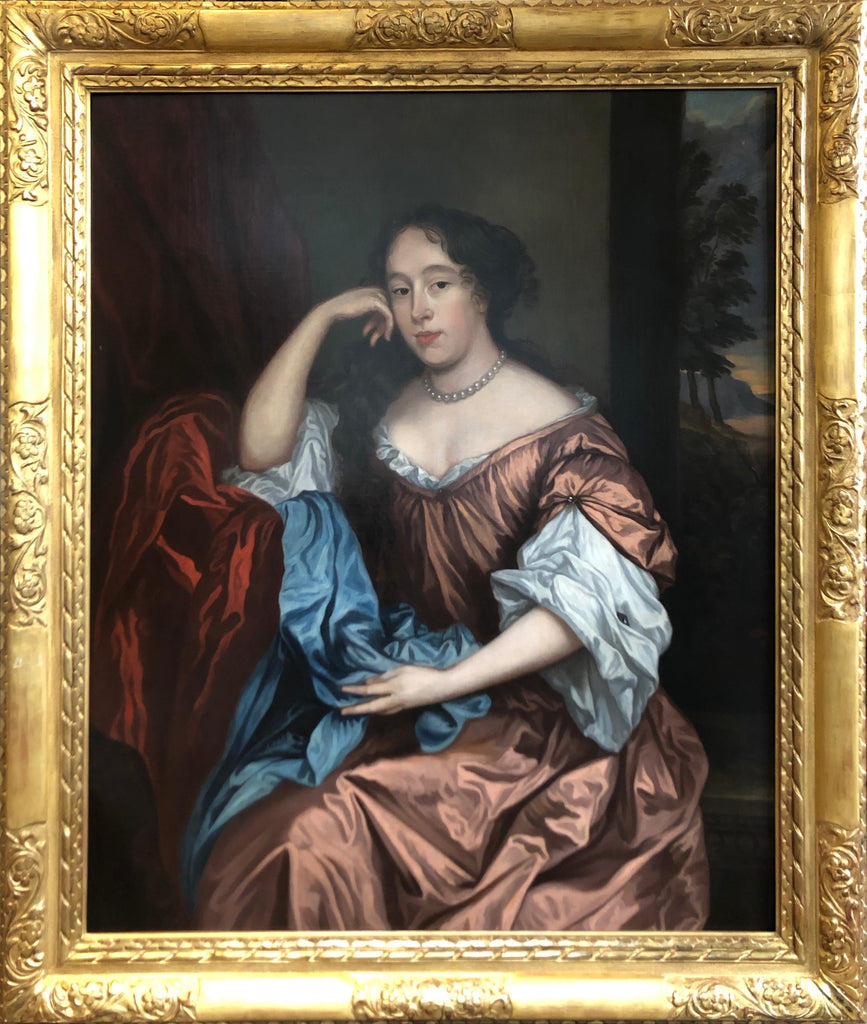 Portrait of a Lady, After Sir Peter Lely (1610-1680) Oil Painting 1670
