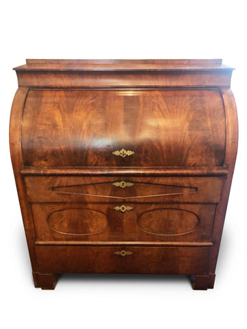 Bureau/Writing Desk Walnut Biedermeier Circa 1840.
