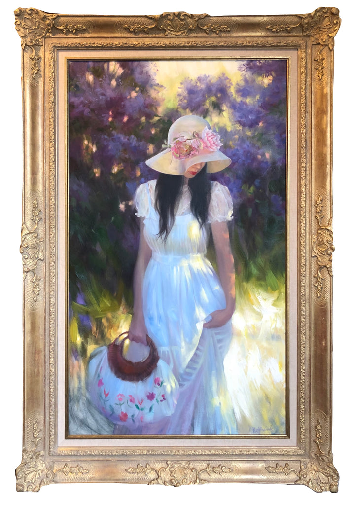 Oil Painting, Portrait by Maria Boohityarova titled 'Summer '